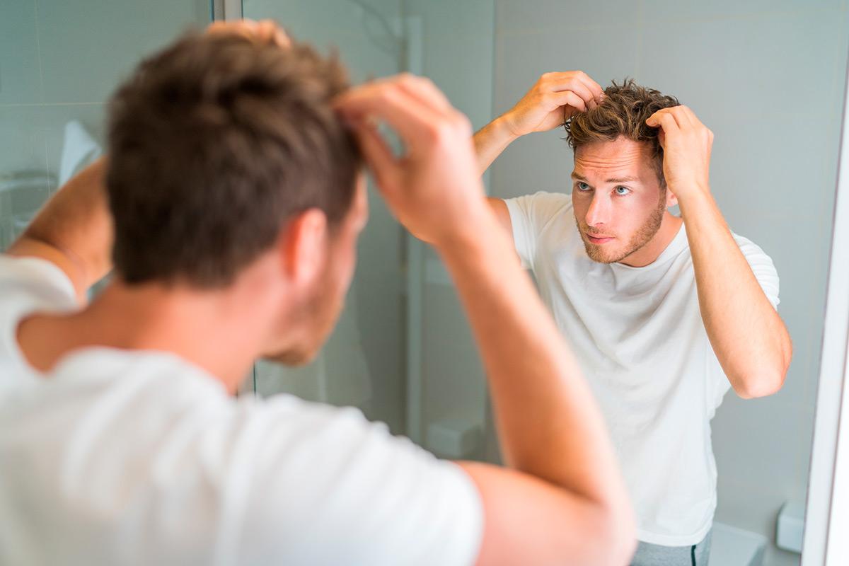 descamación cuero cabelludo